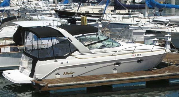 Used Rinker Fiesta Vee 270 Sports Cruiser Boat For Sale
