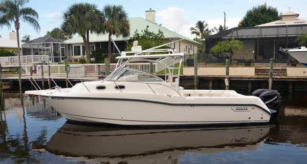 Used Boston Whaler Conquest Sports Fishing Boat For Sale