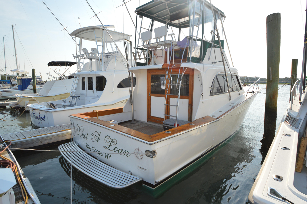 1979 used custom sportfisherman saltwater fishing boat for for Used fishing boats for sale in eastern nc