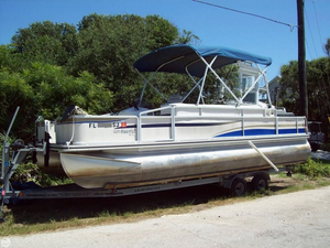 Used Harris 230 Fisherman Pontoon Boat For Sale