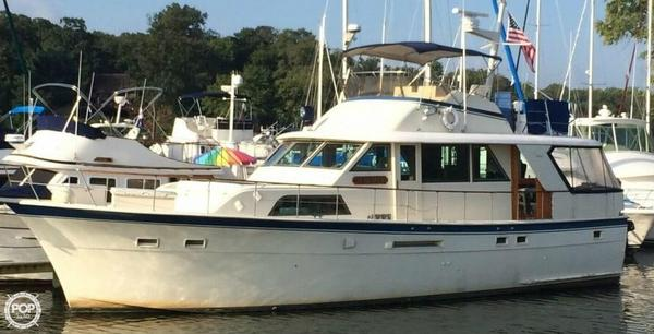 Used Hatteras 53 Classic Cruiser Boat For Sale