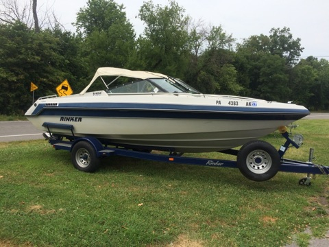 Used Rinker V195 Bowrider Boat For Sale