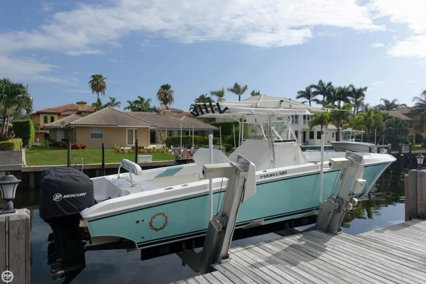 Used Fountain 34 CC Open Center Console Fishing Boat For Sale