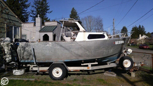 Used Storholm 19 Aluminum Fishing Boat For Sale
