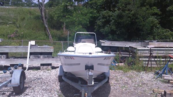 Used Triumph 170CC Center Console Fishing Boat For Sale