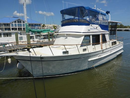 Used Monk 42 Classic Trawler Boat For Sale