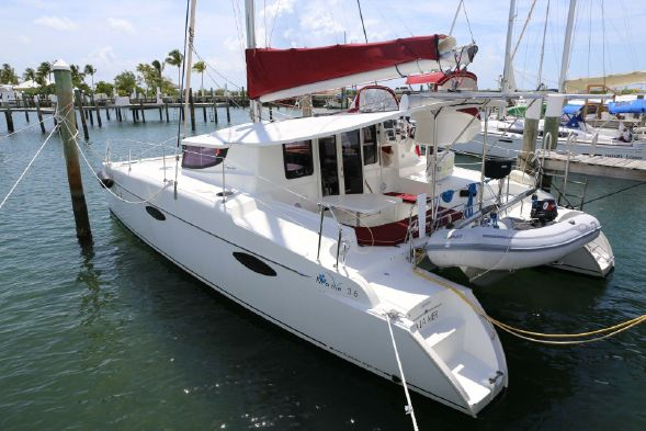 Used Fountaine Pajot Mahe 36 Evolution Catamaran Sailboat For Sale