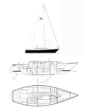 Used Sabre Yachts Mk I Cruiser Sailboat For Sale