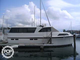Used Ocean Yachts 48 Motoryacht Aft Cabin Boat For Sale