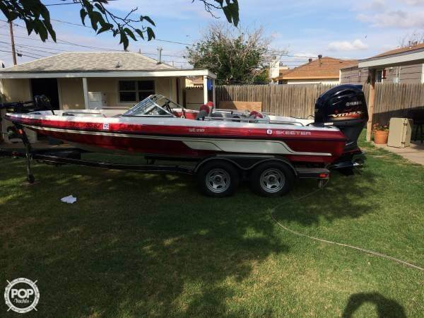 Used Skeeter SL210 Fish & Ski Center Console Fishing Boat For Sale