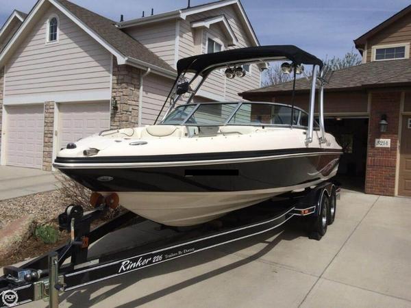 Used Rinker Captiva 226 Bowrider Boat For Sale