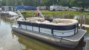 Used Misty Harbor 2285 CU Biscayne Bay Pontoon Boat For Sale
