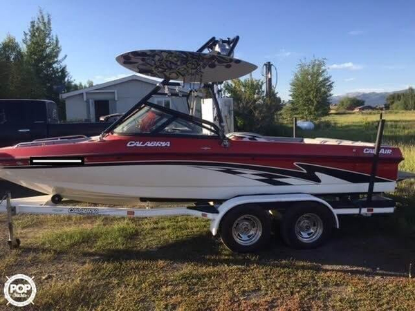 Used Calabria 19 Cal-Air Ski and Wakeboard Boat For Sale