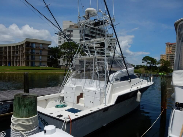 Used Luhrs 340 Sports Fishing Boat For Sale
