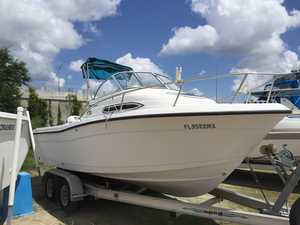 Used Stratos 2160 CC Cuddy Cabin Boat For Sale