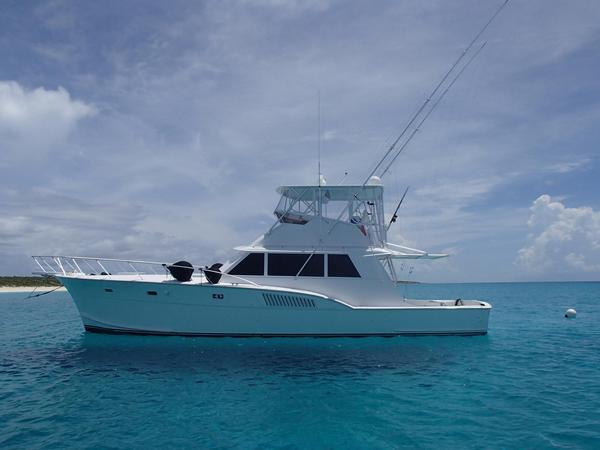 1979 used hatteras sportfish sports fishing boat for sale for Used fishing boats for sale in florida