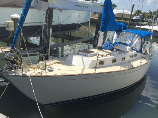 Used Alberg 37 Cruiser Sailboat For Sale