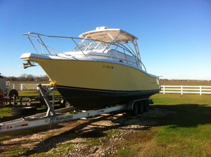 Used Proline 32 Express Saltwater Fishing Boat For Sale