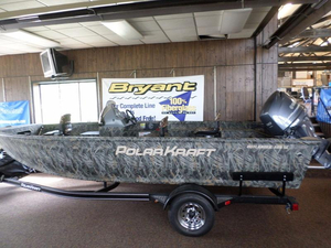 New Polar Kraft Outlander 186 SC Aluminum Fishing Boat For Sale