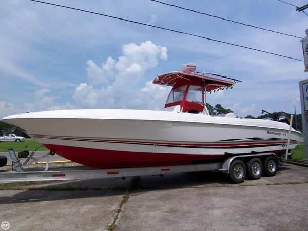 Used Wellcraft 32 CCF Scarab Sport Center Console Fishing Boat For Sale