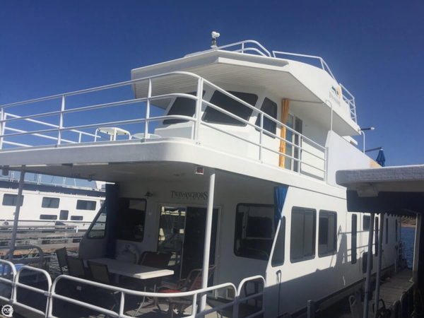 Used Twin Anchor 68 House Boat For Sale