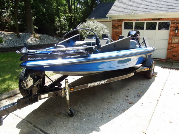 Used Procraft 185 PRO Bass Boat For Sale