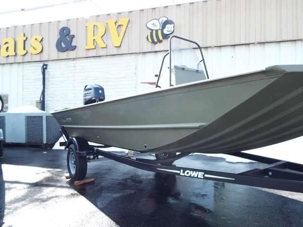 2018 new lowe roughneck 1660 tunnel jet for Jet fishing boats for sale