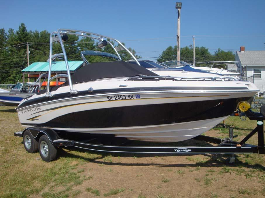 2008 Used Tracker Tahoe Q71 Bowrider Boat For Sale