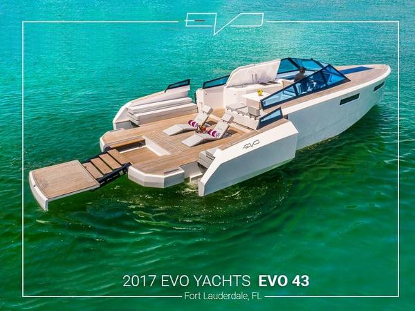 New Evo Yachts EVO 43 Convertible Fishing Boat For Sale
