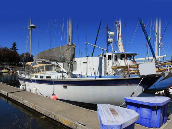 Used Hughes 48 Yawl Cruiser Sailboat For Sale