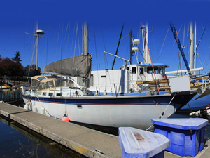 Used Hughes 48 Yawl Cruiser Sailboat For Sale