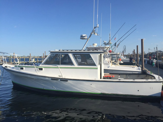 1985 used jc boat builders downeast fishing boat for sale for Fishing boats for sale nj