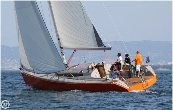 Used Zephyr C-41 Racer and Cruiser Sailboat For Sale