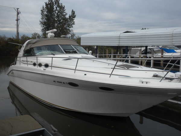 Used Sea Ray 370 Sundancer Cuddy Cabin Boat For Sale