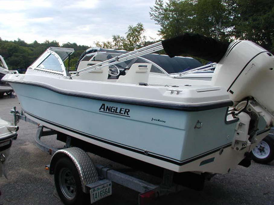 2004 used angler 180dc saltwater fishing boat for sale for Angler fish for sale