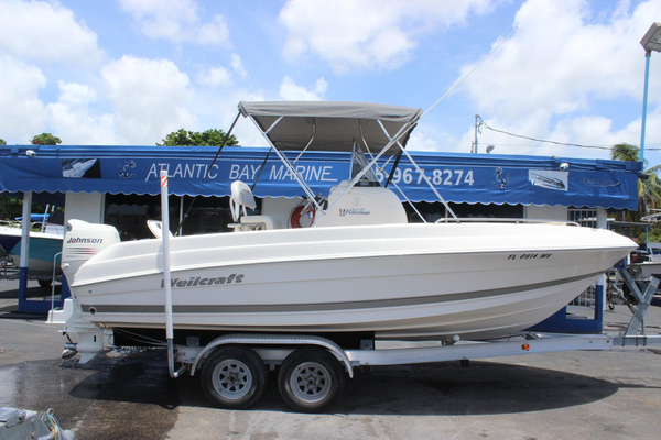 Used Wellcraft 212 Fisherman Saltwater Fishing Boat For Sale