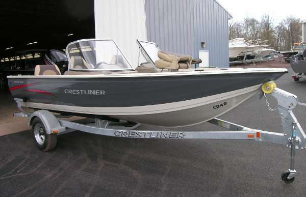 New Crestliner 1750 Fish Hawk WT Freshwater Fishing Boat For Sale