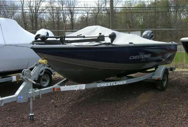 New Crestliner 1600 FISH HAWK SC Freshwater Fishing Boat For Sale