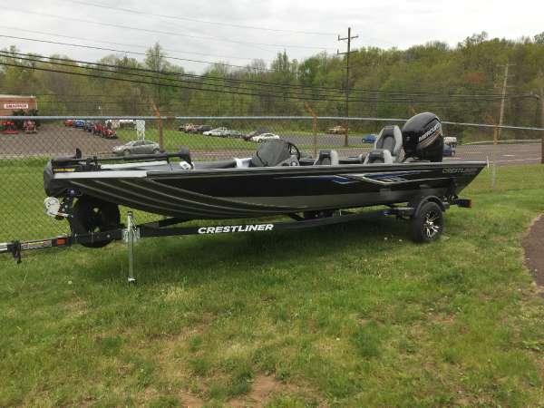 2016 new crestliner vt 19 freshwater fishing boat for sale for Freshwater fishing boats