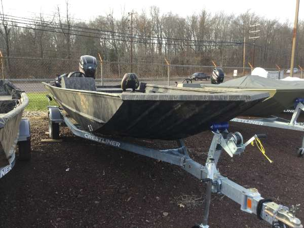 New Crestliner 2070 Retriever SC Jon Boat For Sale
