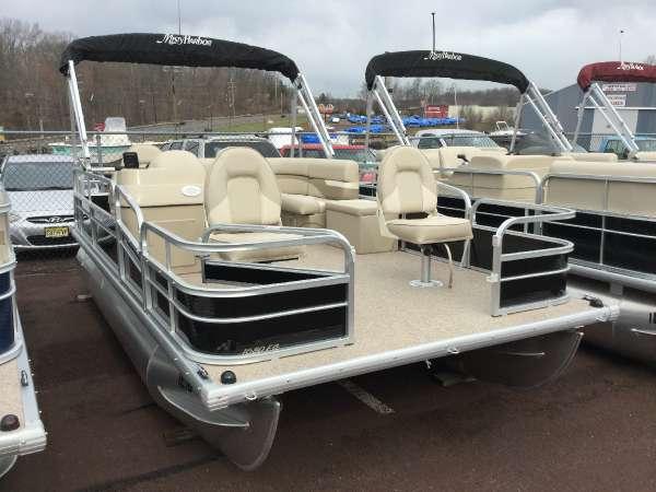 New Misty Harbor 1680 FC Explorer Pontoon Boat For Sale