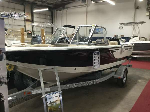 New Crestliner 1850 SPORTFISH OB Freshwater Fishing Boat For Sale