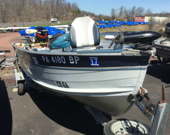 Used Sylvan 14 Super Snapper Freshwater Fishing Boat For Sale