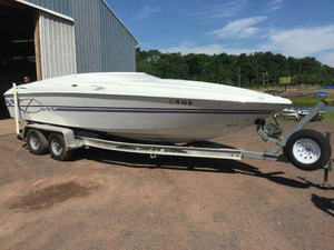 Used Baja Marine H2X Cuddy Cabin Boat For Sale