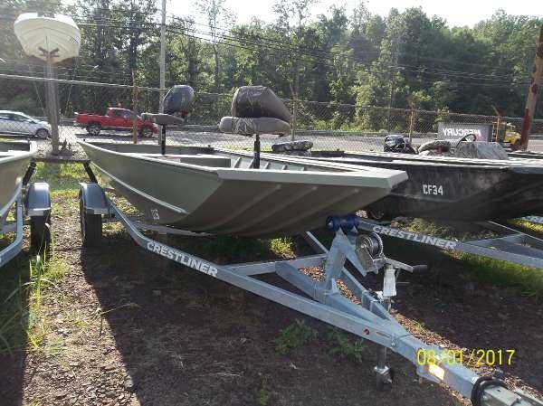New Crestliner 1650 Retriever Jon Boat For Sale
