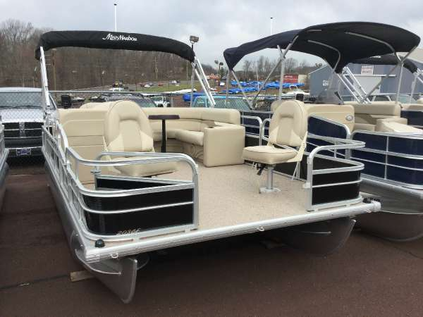 New Misty Harbor 203 CF Adventure Pontoon Boat For Sale