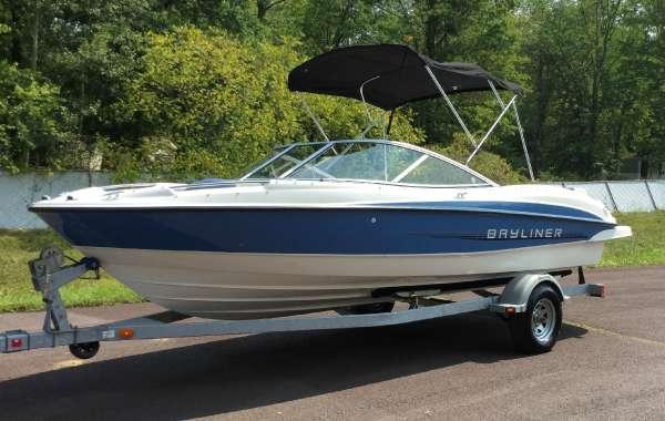 Used Bayliner 215 Bowrider Boat For Sale