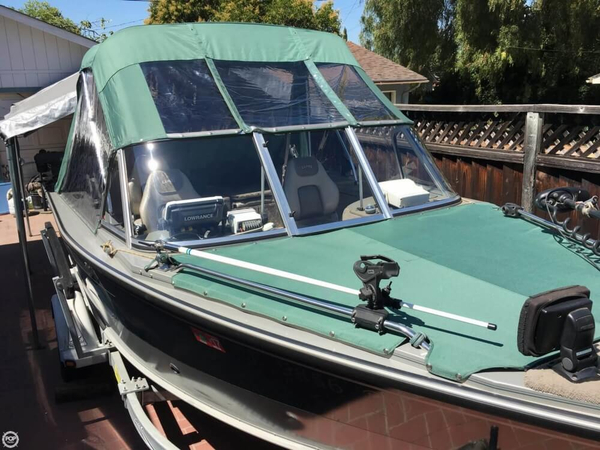 Used Lund 1800 Aluminum Fishing Boat For Sale