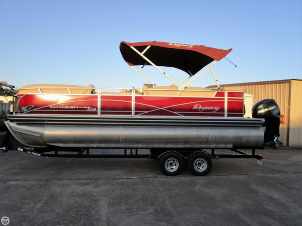Used Sun Tracker Party Barge 220 XP3 Regency Edition Pontoon Boat For Sale
