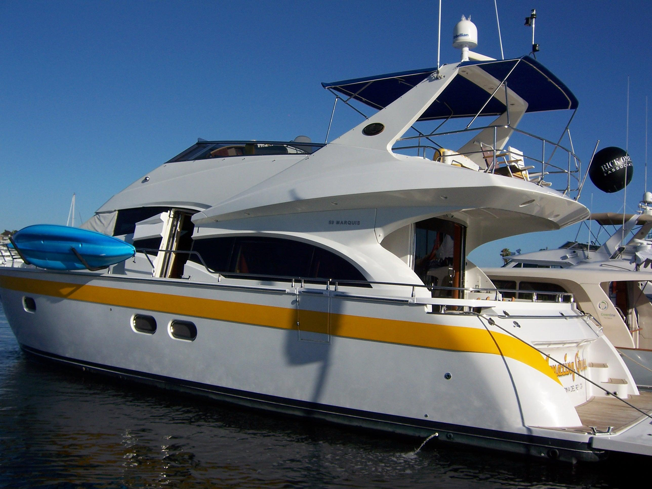 2004 Used Marquis 59 Pilothouse Motor Yacht For Sale